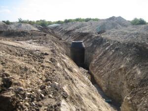 Matador Phase II - Backfilling Sewer Main & Manhole